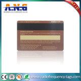 Gouden Douane Afgedrukte Kaarten in Ultralight/Één Keer van de Slimme Kaart van het Kaartje RFID van E