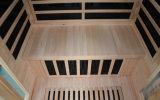 Sauna en bois de l'infrarouge 2016 lointain de pièce portative de sauna pour 2 personnes (SEK-I2)
