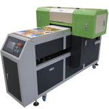 Máquina de impressão de madeira de couro cerâmica de vidro da lona do metal