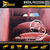 Sistema stridente di estrazione mineraria bagnata di classificatore a spirale del laboratorio del Miller della sfera del laboratorio