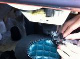 Орнаментальная двойная швейная машина кожаный ботинок Moccasin иглы