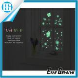 Schöner nachts zu verwenden Fluoreszenz-Fenster-Wand-Aufkleber,