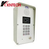 Профессиональный телефон диктора Knzd-51 непредвиденный телефона телефона двери голоса IP