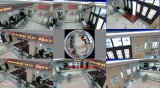 1.3 MP камера CCTV IP 360 градусов, камера слежения сети Fisheye панорамная