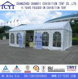 Einfach einfaches wasserdichtes weißes Partei-Hochzeits-Zelt installieren
