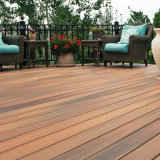 Plastic al aire libre Floor WPC Decking Board con Surface Co-Extrusion
