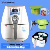 Nueva mini máquina St-1520 de la prensa del calor del vacío de la sublimación 3D
