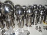 Sfera rotativa filettata sanitaria di pulizia dell'acciaio inossidabile