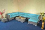 柳細工の屋外のソファー
