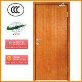 Porte ignifuge en bois personnalisable utilisée sur l'entrée de pièce