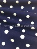 Spandex impreso melocotón Finished del poliester del algodón de la tela cruzada de la tela