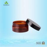 80ml bereifte Kosmetik-Schablonen-Gläser mit Plastikschutzkappe