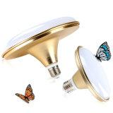 Metallgold überzogenes NENNWERT E27 15W LED Lampen-/LED der Birnen-/LED Beleuchten