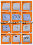 Zoccolo europeo della parete Switch/Socket/Doorbell Switch/Wall Socket/Schuko di stile