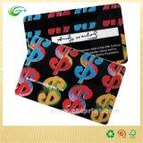 tarjeta del PVC de la impresión 3D, tarjeta de visita con grabar (CKT-PC-1115)