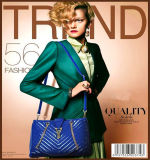 2016 새로운 패션 간단한 디자인 도매 가죽 여성 레트로 우아한 체인 어깨 가방