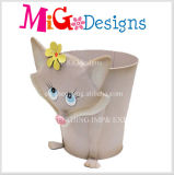 Figurine Multifunctional da râ do plantador do metal da flor de Gareden