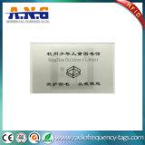 Tag RFID résistants d'à haute fréquence de l'eau avec l'impression de logo pour la bibliothèque