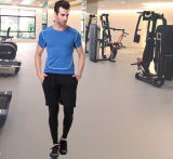 Обыкновенная толком тенниска гимнастики Sportswear Spandex/полиэфира для людей
