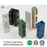 CNC алюминия подвергая фабрику механической обработке запасных частей в Shenzhen Китае