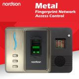 Фингерпринт сети металла & доступ RFID регулятор с выходом Wiegand, котор нужно соединиться с пультом управления