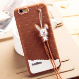 iPhoneのための工場Supply Fashion Silicon Phone Case 6 6plus