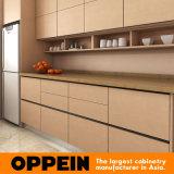Gabinetes de cozinha por atacado de madeira da melamina Matte moderna do fabricante de Guangzhou (OP15-M10)