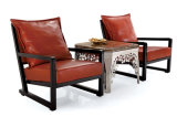 Cadeira elegante e moderna do sofá do lazer do couro da mobília da sala de visitas (HC016)