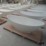 De acryl Stevige Ovale Freestanding Badkuip van de Oppervlakte