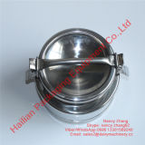 Piccolo Stainless Steel Airtight Milk Drum con Lid