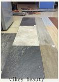 Plancher de marbre imperméable à l'eau de vinyle de PVC de résistance de la corrosion de glissade de type européen non