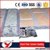 Voie de garage en bois de ciment de fibre de série d'enduit de couleur