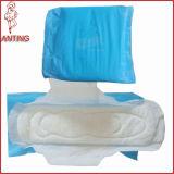 Guardanapo sanitário de 2015 mulheres descartáveis quentes da venda para África, almofadas das senhoras do algodão, guardanapo sanitário do aníon