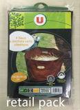 Sacchetti del giardino tessuti plastica del sacchetto dello spreco del sacchetto del sacchetto 110L/150L del PVC