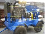 Motorangetriebene Selbstgrundieren-Klärschlamm-Dieselspülpumpe