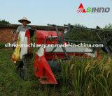 Petite mini moissonneuse de cartel de chenille triangulaire avec du riz/blé