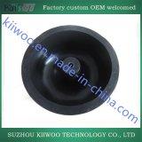 Parti modellate della gomma di silicone con colore nero