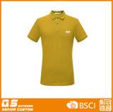 T-shirt sec d'ajustement de polo de la mode des hommes
