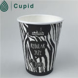 Eco Plain White Hot Cup con Lid