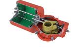 Schotse Pneumatische Actuator van het Juk met de Controleklep van de Klep van de Reis van de Klep van de Solenoïde van de Doos van de Schakelaar