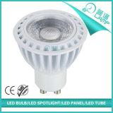 Weiße Beleuchtung des Aluminium-5W GU10 LED