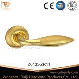 Maniglia di leva in lega di zinco interna di legno della serratura di portello (Z6138-ZR11)