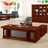 Bureau en bois de bureau de grand bureau exécutif
