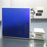 Venta caliente pequeña de fibra de la venta directa del láser de fibra Máquina de la marca