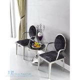 丸背のArmrestのステンレス鋼のホテルの椅子(HW-YH83-1C)