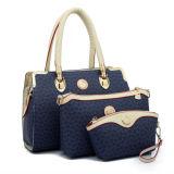 Madame réglée Designer Handbag de femme de mode de PCS de sac de Hobo de la bourse composée 3 de sac