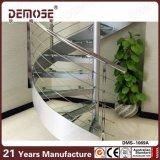 Vorzügliches Auslegung-Haus-ausgeglichenes Glas-gewundenes Treppenhaus (DMS-1069)