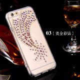 Мобильный телефон Case Wholesale Luxury Shining Diamond TPU Cover изготовления, iPhone 6s аргументы за Diamond