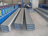 Hoja derecha del material para techos del metal de la costura
