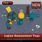 De openlucht Plastic Schommeling & de Dia van de Speelplaats voor School (x1503-2)